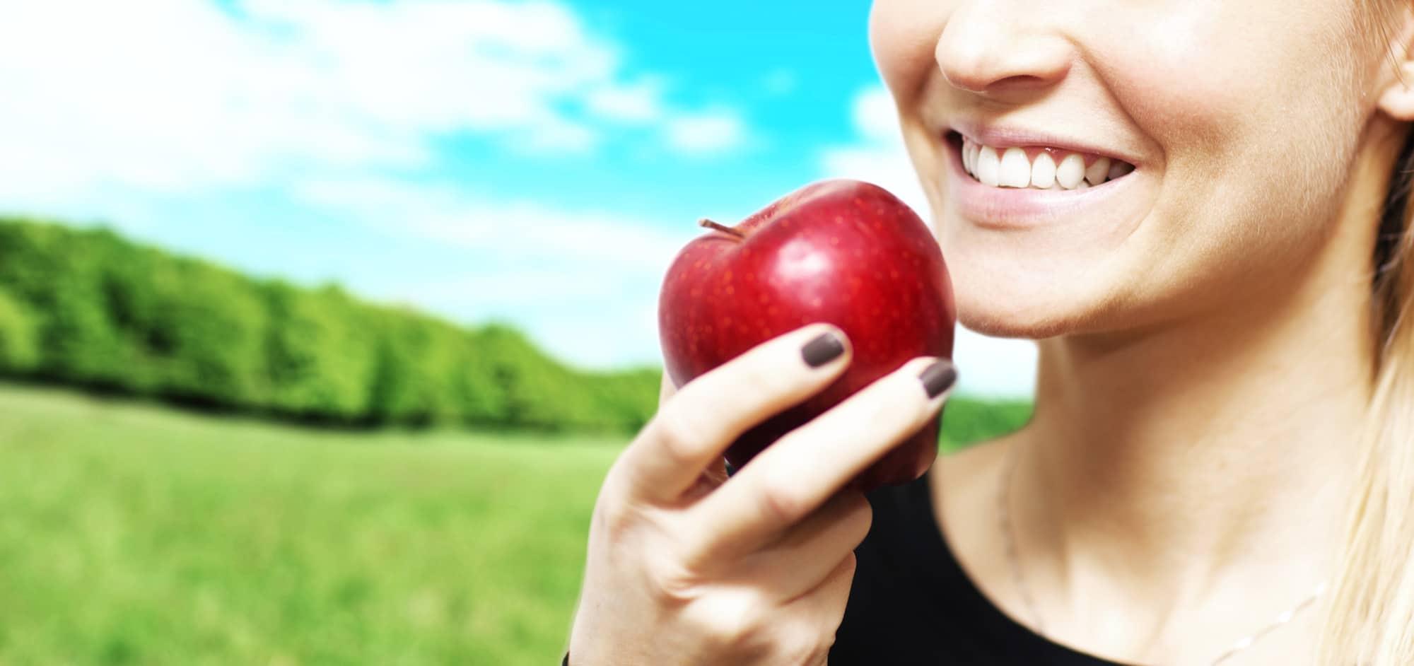 Smil eple natur